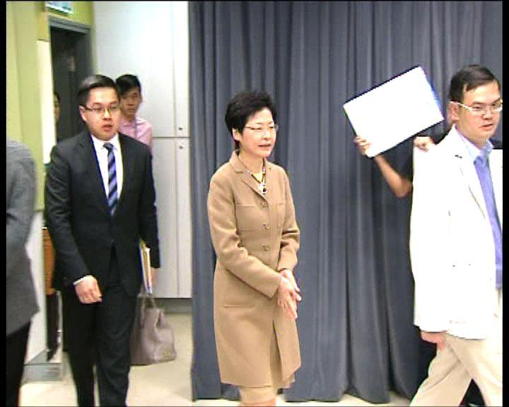 林鄭月娥:政府要適時釐清一些法律觀點