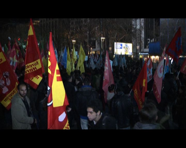 土耳其民眾抗議網絡審查法案