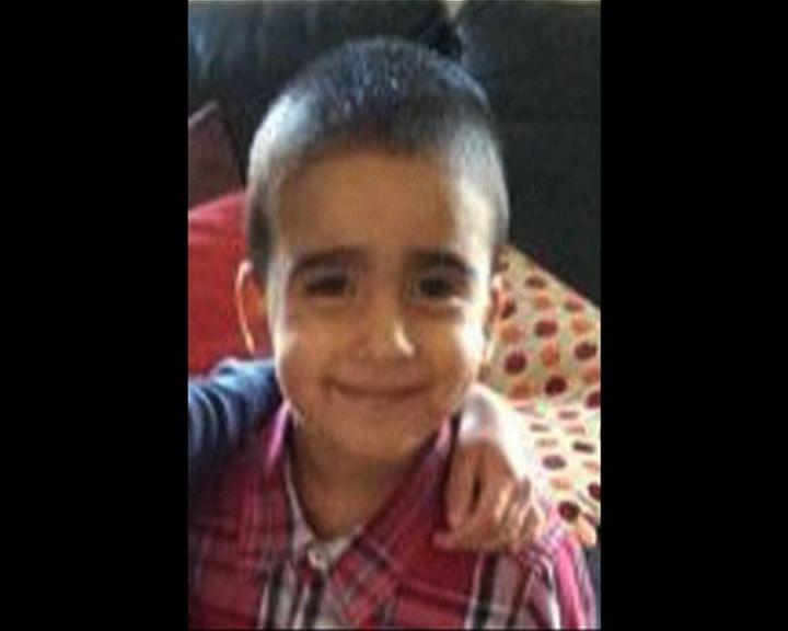 英發現屍體疑為3歲失蹤男童