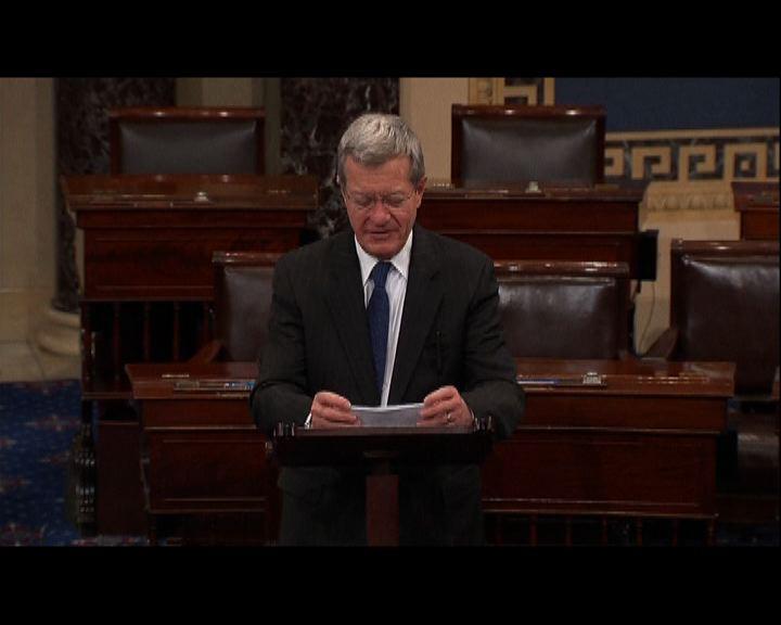 鮑卡斯獲參議院通過任駐華大使