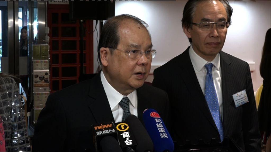 張建宗:來年是否派錢視乎經濟狀況