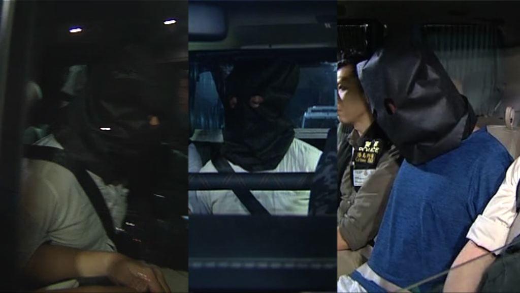 中環珠寶店劫案 警拘三名哥倫比亞籍疑犯