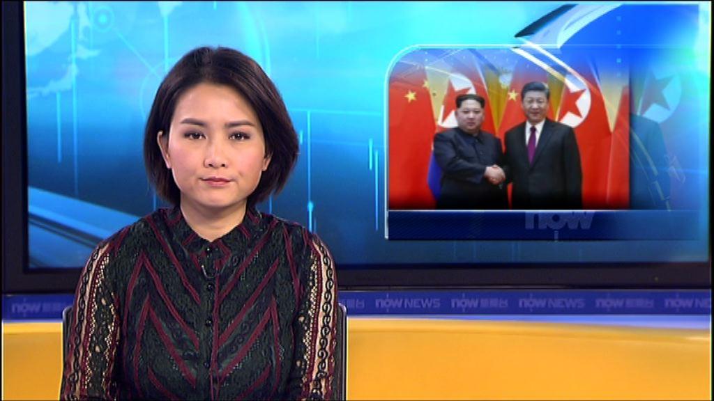中方已向美國南韓通報金正恩訪華行程