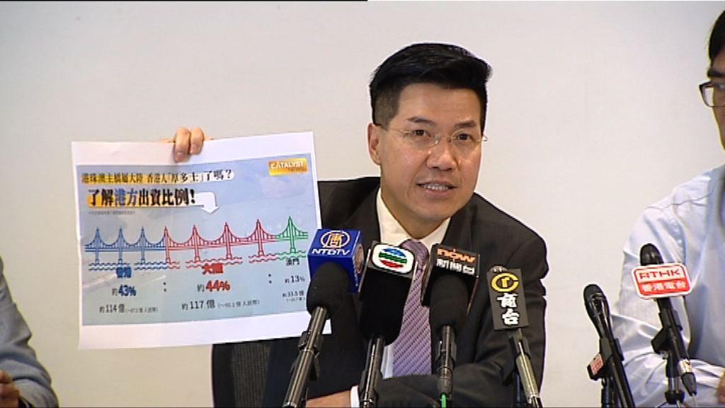 議員質疑路政署在港珠澳大橋管理缺話語權