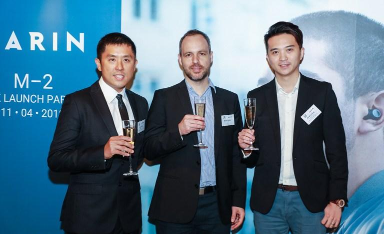左起:LRT General Manager - Leo、EARIN 創辦人 - Olle、LRT Product Manager - Kit