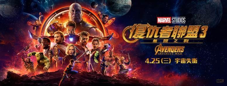 《復仇者聯盟3:無限之戰》預售破紀錄 電影極度機密完整劇本