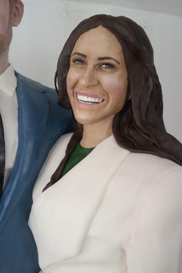 英國餅師製作哈里王子1:1蛋糕賀大婚