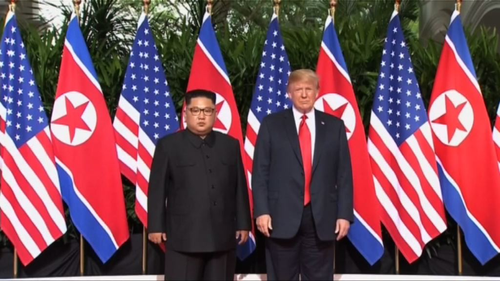 美朝領袖同意合作解決半島問題