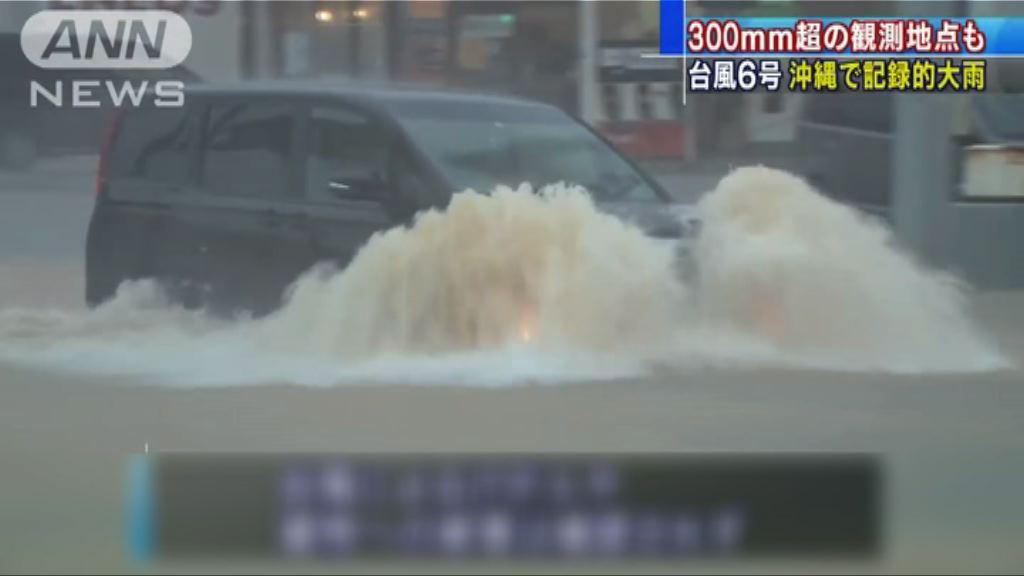 日本沖繩和鹿兒島受風暴吹襲 多區下暴雨
