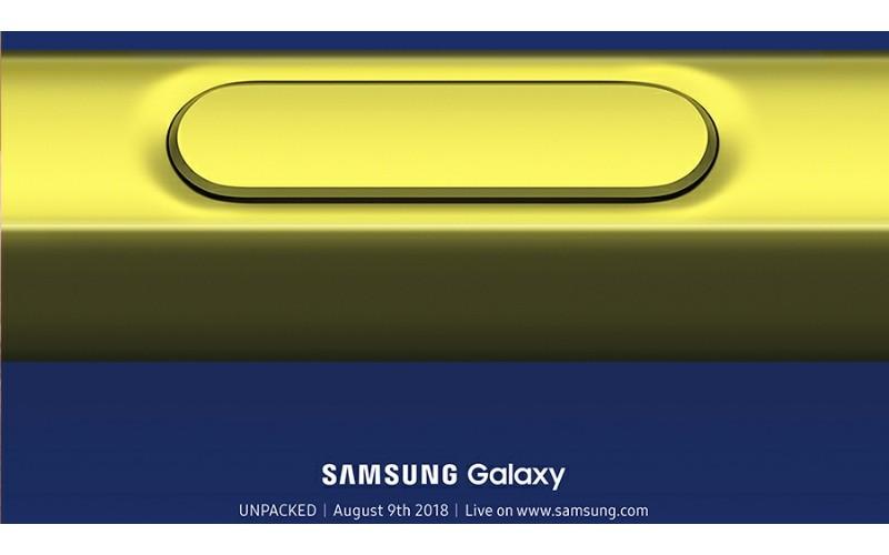 Samsung Galaxy Note 9 確定於8月9日發佈!