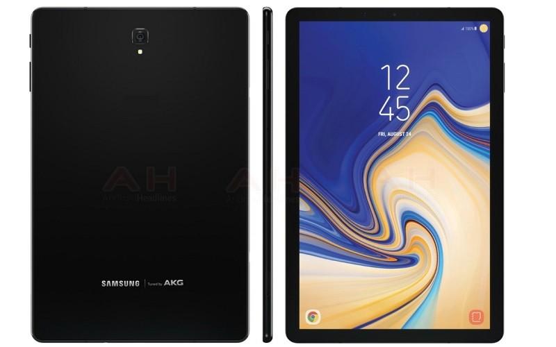 疑似 Samsung 最新平板電腦 Galaxy Tab S4 渲染圖曝光!