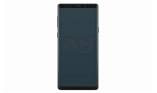 疑似 Samsung Galaxy Note 9 官方宣傳圖曝光: 承襲上代設計!