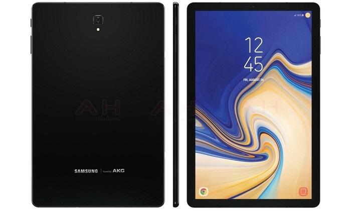 Galaxy Tab S4 曝光  全新設計連鍵盤及S Pen