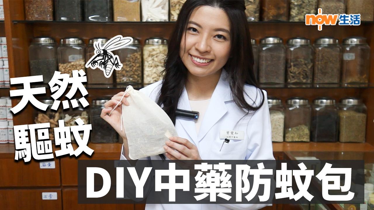 【生活教室】天然驅蚊之選 DIY中藥防蚊包