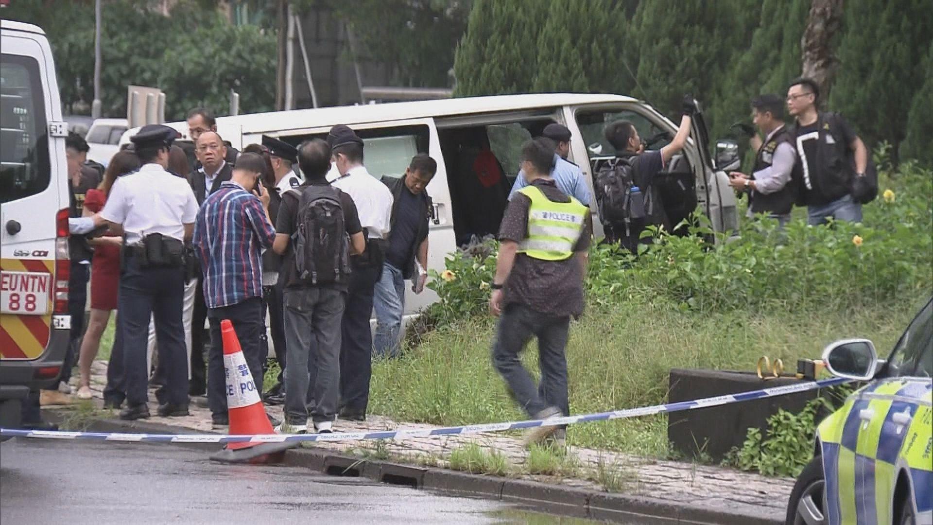 大埔林錦公路發生警員開槍事件