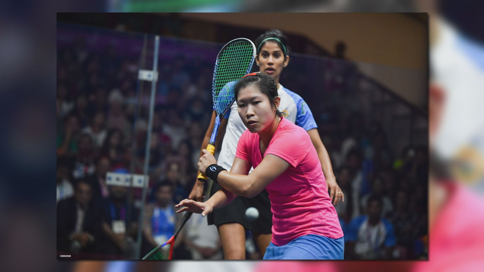 亞運 港隊於女子壁球團體賽奪金