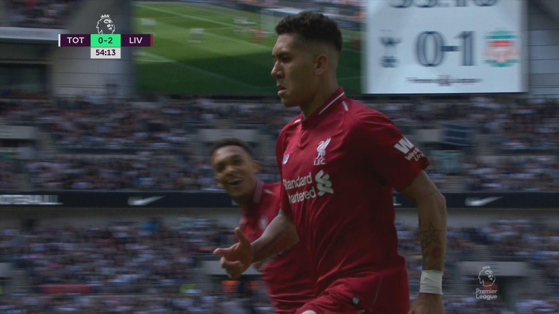 英超 熱刺 1:2 利物浦