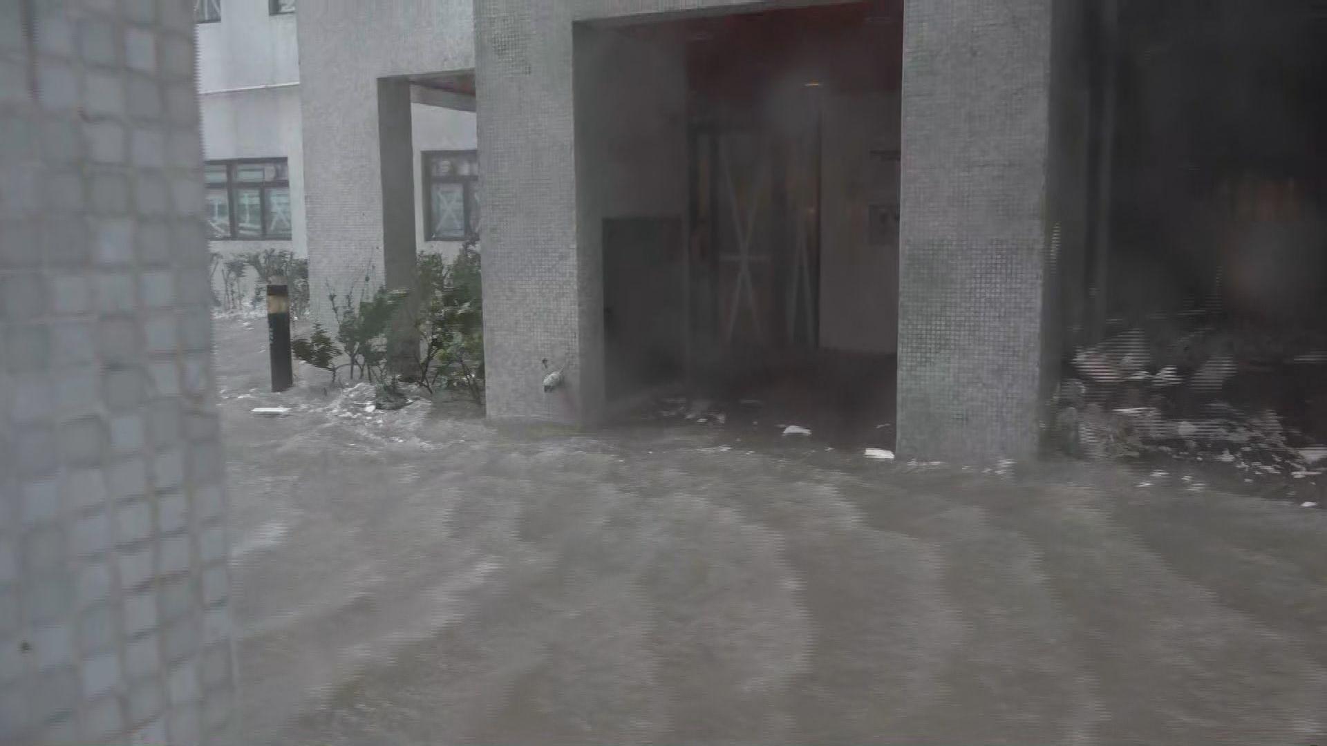 杏花村部分住宅斷水斷電