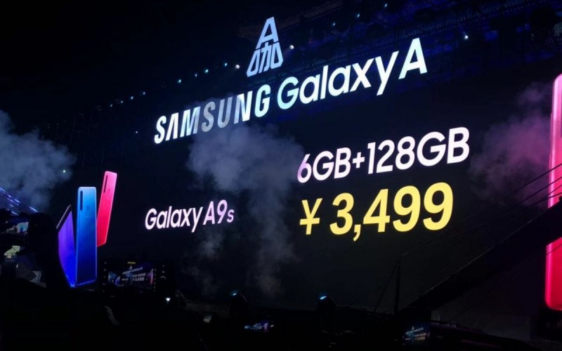 Samsung 四主鏡頭手機  Galaxy A9s 及 A6s 齊於國內發佈