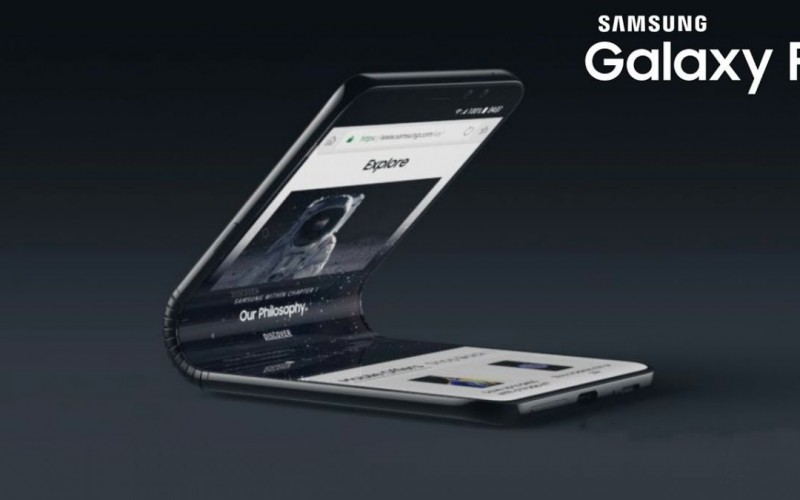 Samsung 首款可折疊屏幕手機將定名為 Galaxy F, 最大512GB + 支援雙卡