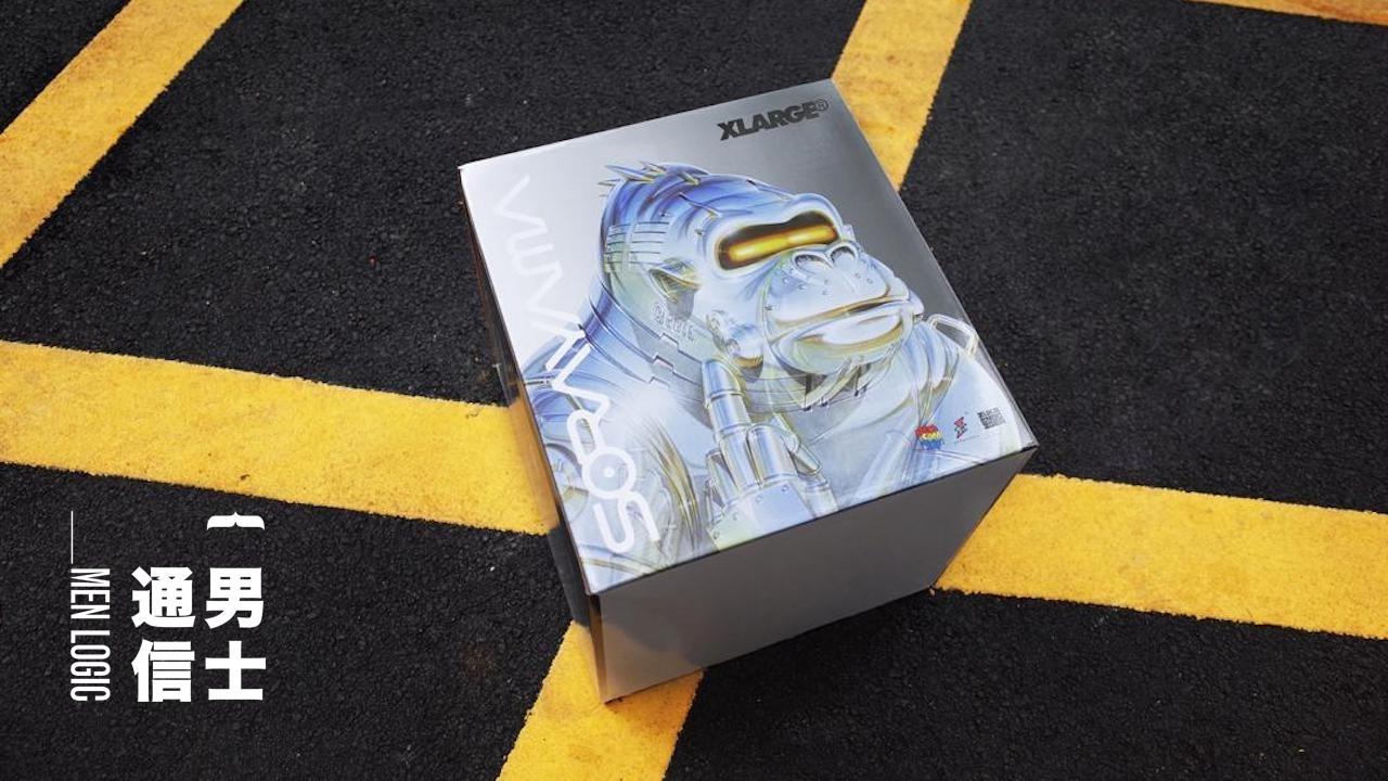 〈好男〉【發售前夕必讀】空山基 x XLARGE x APPortfolio x Nanzuka x Medicom 超重磅五方聯乘