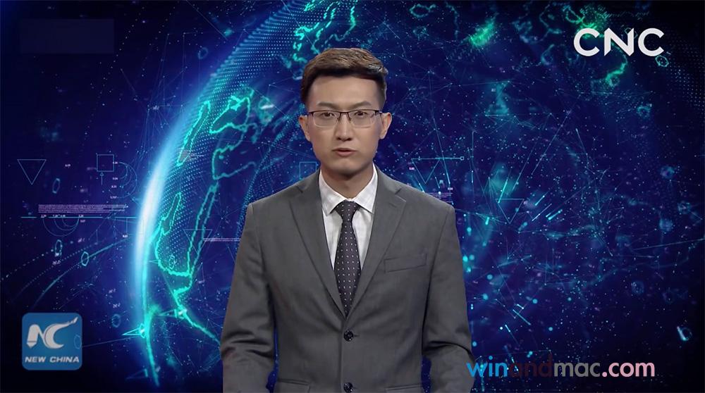 【有片】內地首個人工智能AI主播 網民指似內容農場影片
