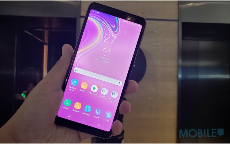 Samsung 四主鏡頭手機開價四千有找,Galaxy A9、A7、J4+ 齊發布!