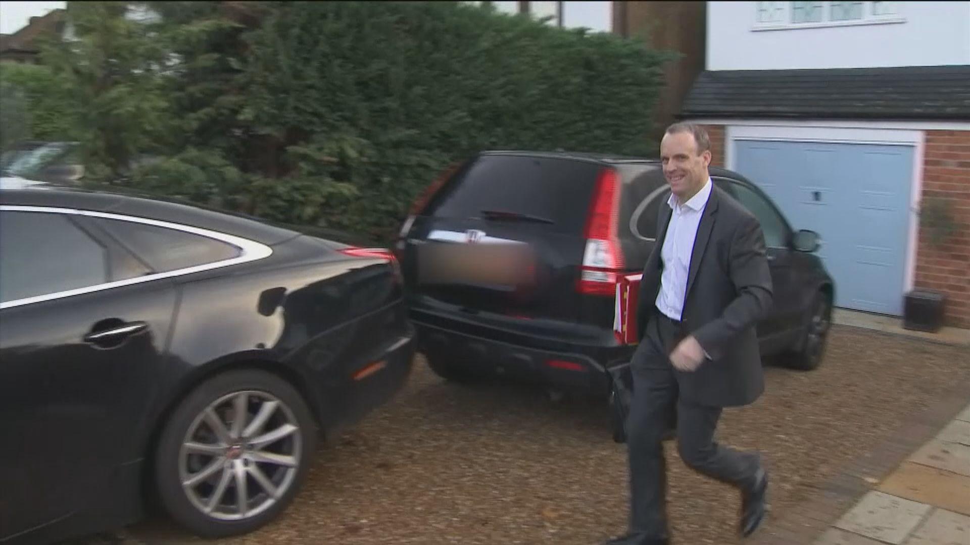 英國脫歐大臣藍韜文不滿脫歐草案辭職