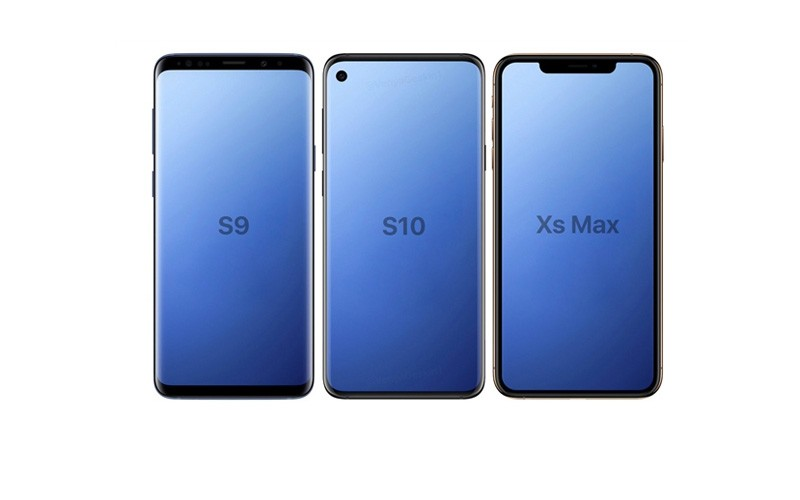 Samsung S10 採用零邊框 OLED 屏幕?! 兩代對比圖曝光