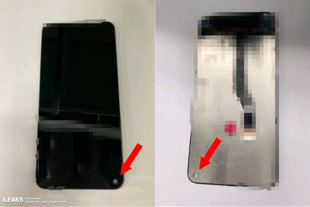三星的 Infinity-O 開孔屏幕組件流出   真係穿咗一個「窿」!