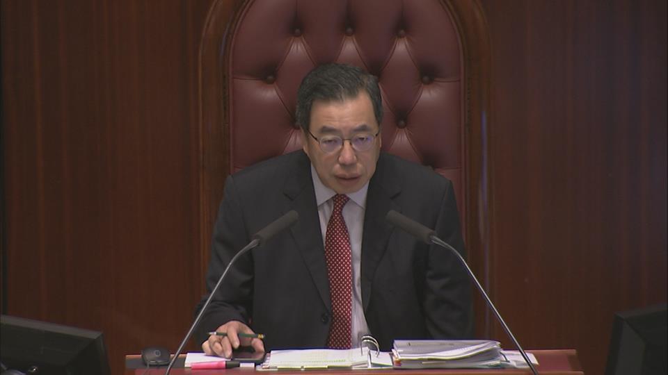 【政情網上行】立法會主席新年祝福