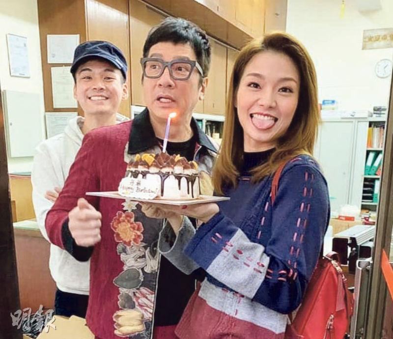 劉丹75歲生日 呂慧儀捧蛋糕送驚喜