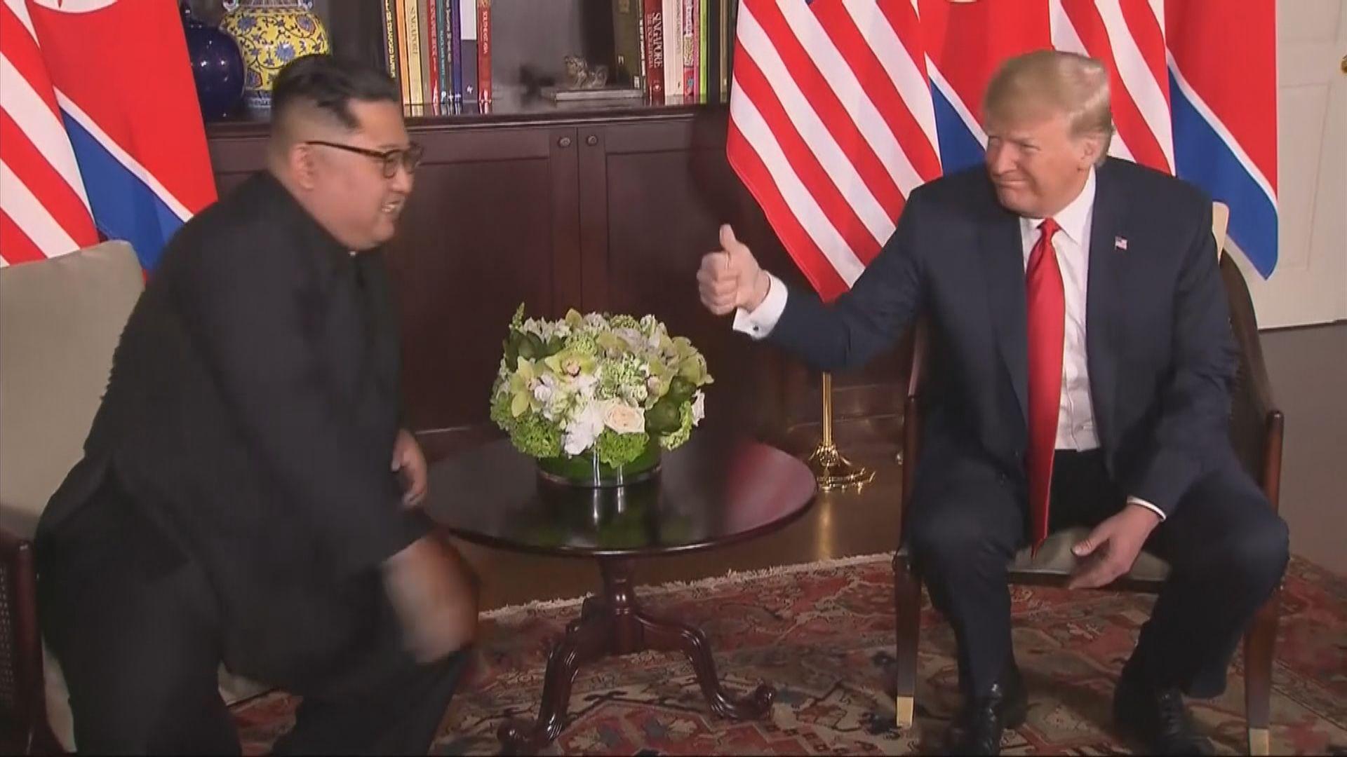 特朗普:不急於推動北韓徹底無核化
