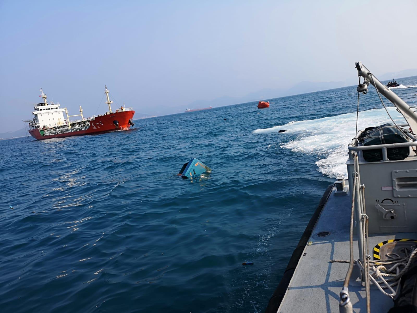 南丫島對開公海漁船被撞沉疑有人失蹤