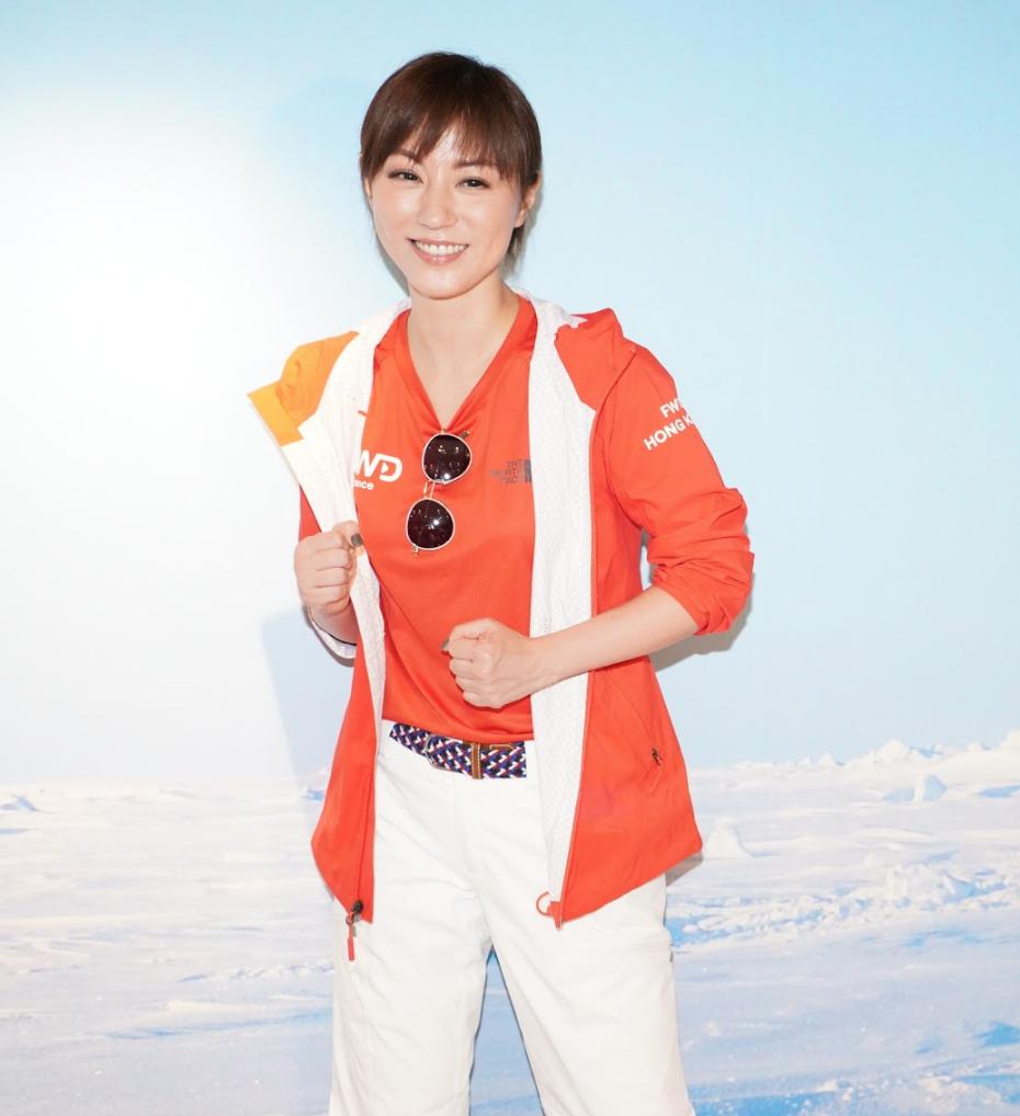 劉心悠釗峰勇闖極地 挑戰北極馬拉松