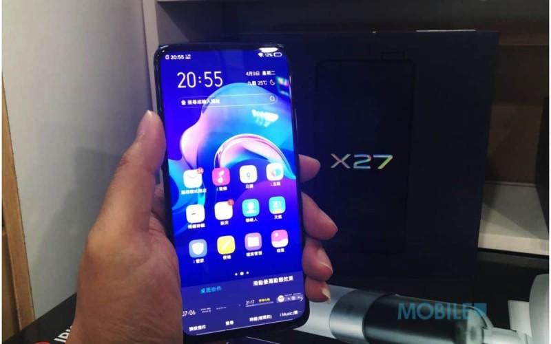 「水貨行情」vivo 中高階手機水貨到港,X27 開價$3,880起!
