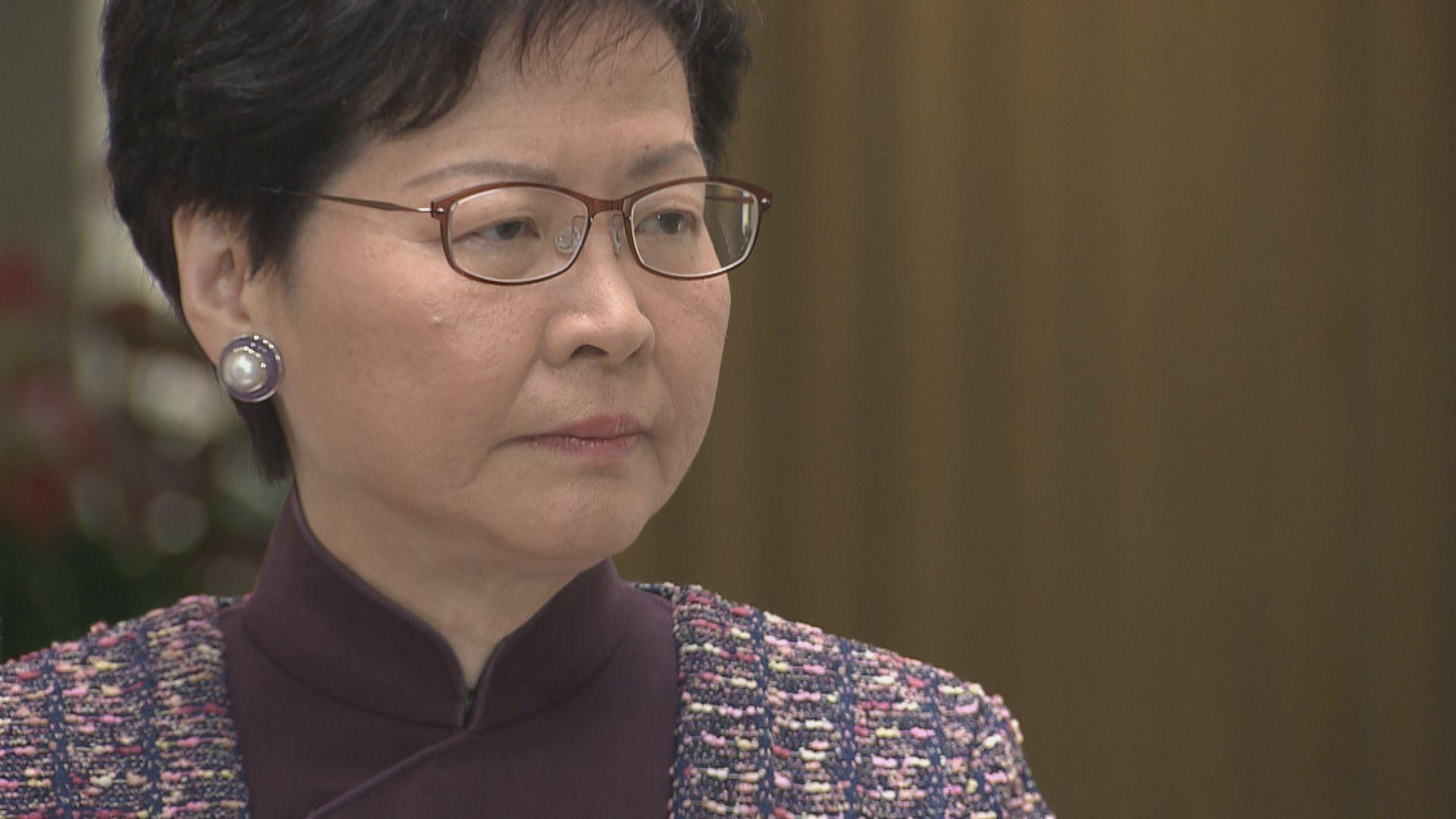 林鄭:中央同意五措施便利電影業到內地發展