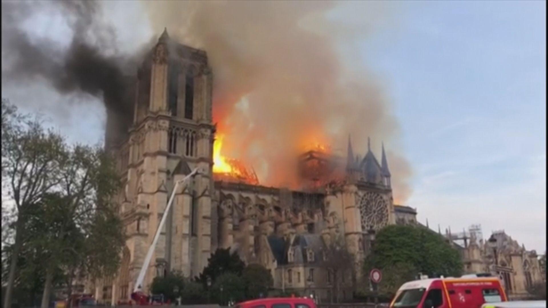 【即日焦點】巴黎聖母院大火焚燒15小時終救熄、電影業歡迎5項便利港產片北上措施