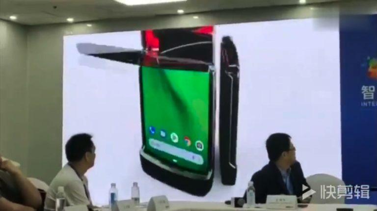 Lenovo 自爆 Motorola RAZR 摺屏機    但被揭用了未授權影片作演示