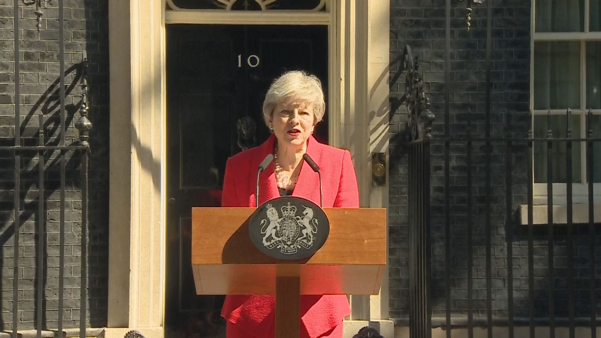 【最新】文翠珊宣布下月7日辭任保守黨黨魁