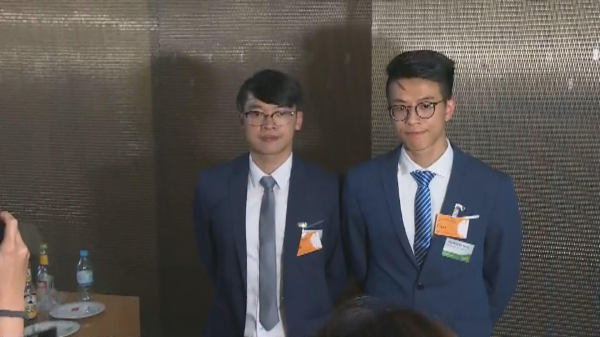 【足本】黃台仰李東昇德國接受本港傳媒訪問