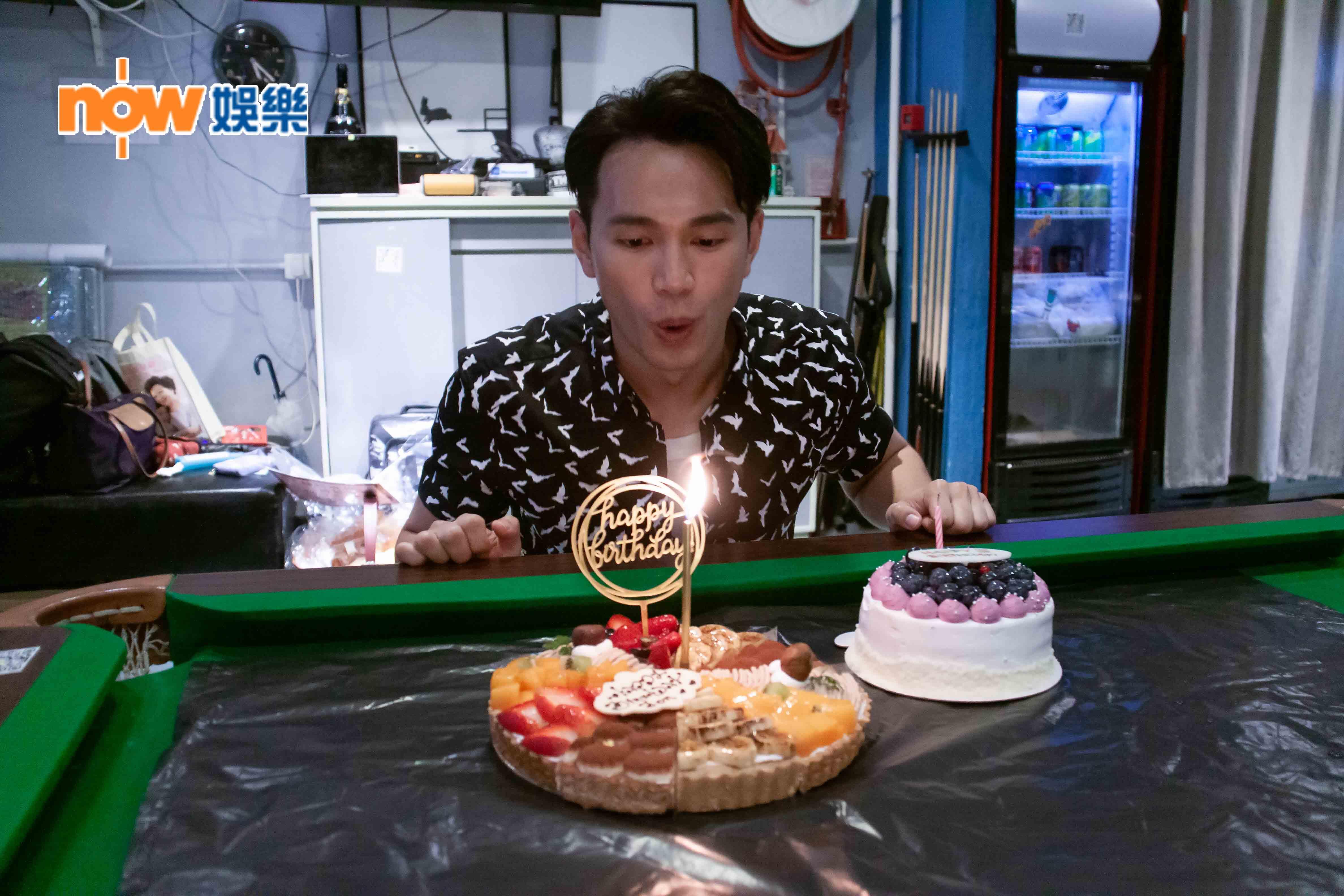 王梓軒33歲生日見紅