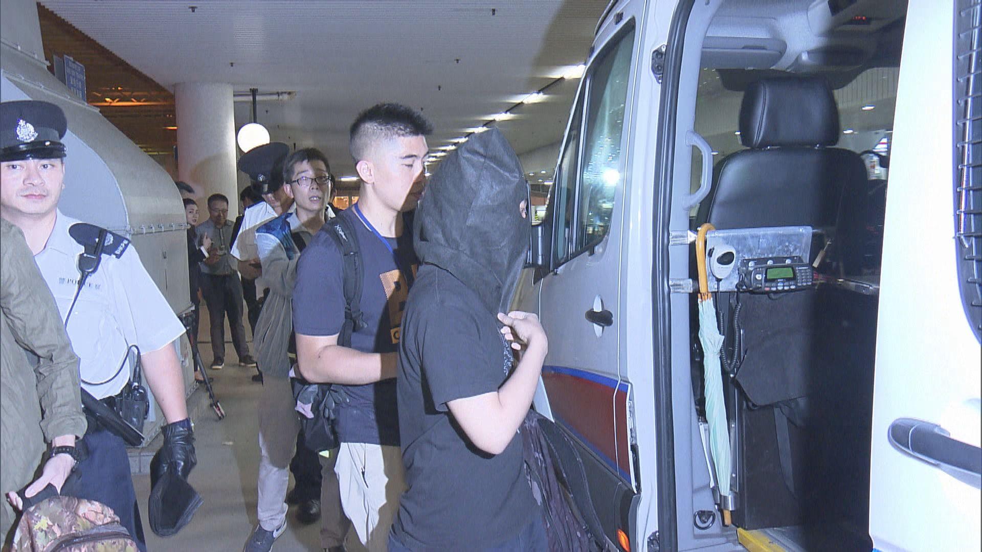 警方拘八名男子涉藏有工具作違法用途