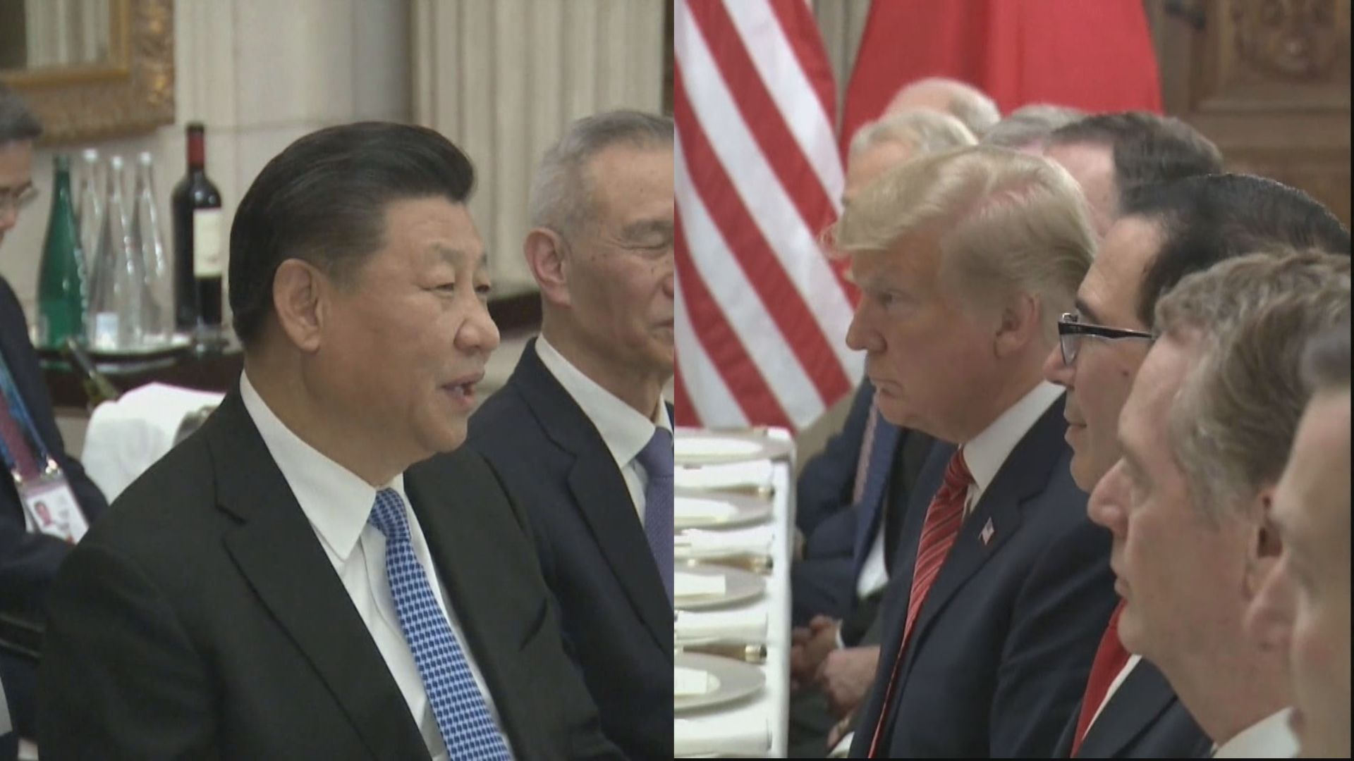 特朗普與習近平通電話 兩人下周G20會晤