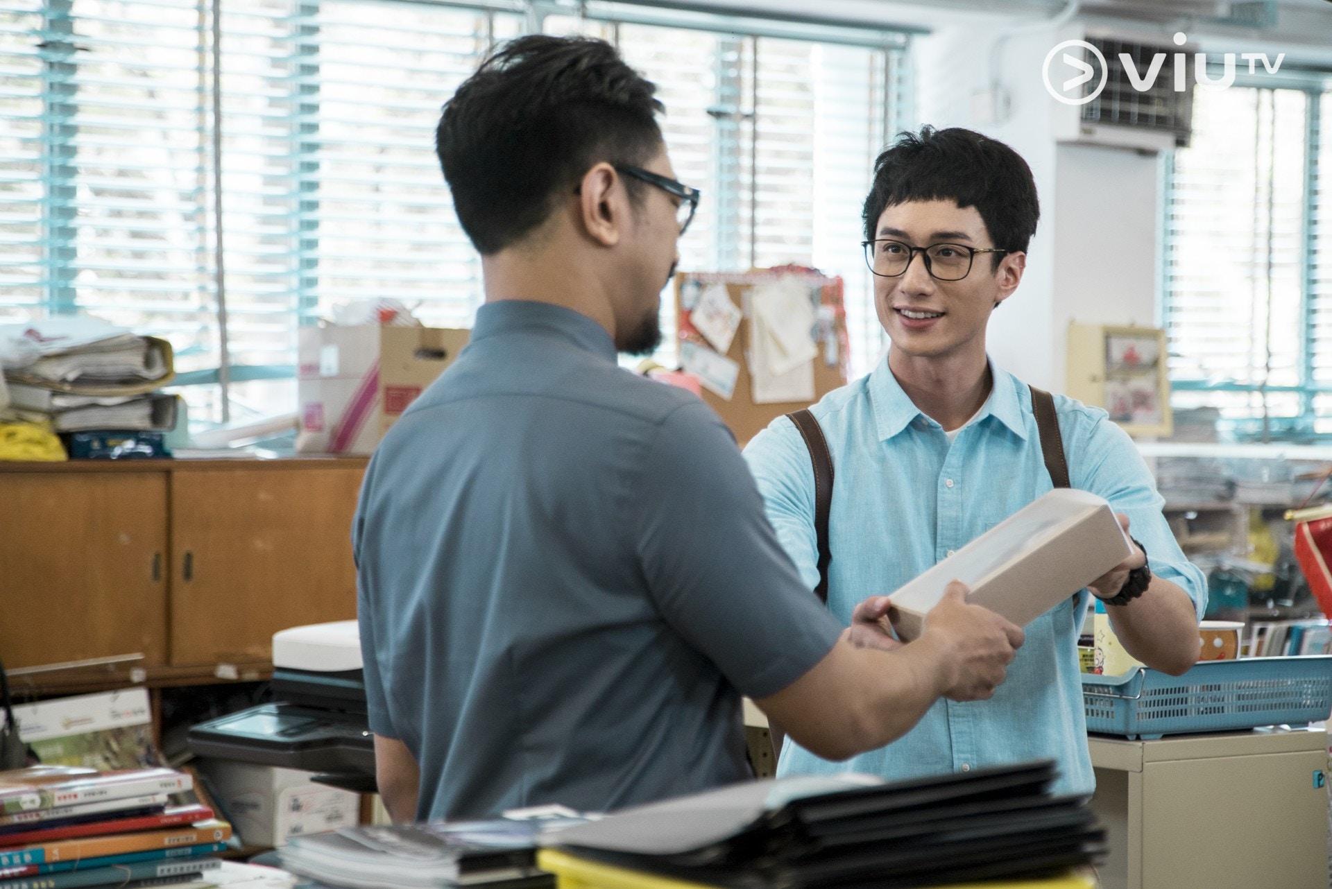 劉俊謙飾演合約老師「盧Sir」,為爭取續約不惜忍氣吞聲。