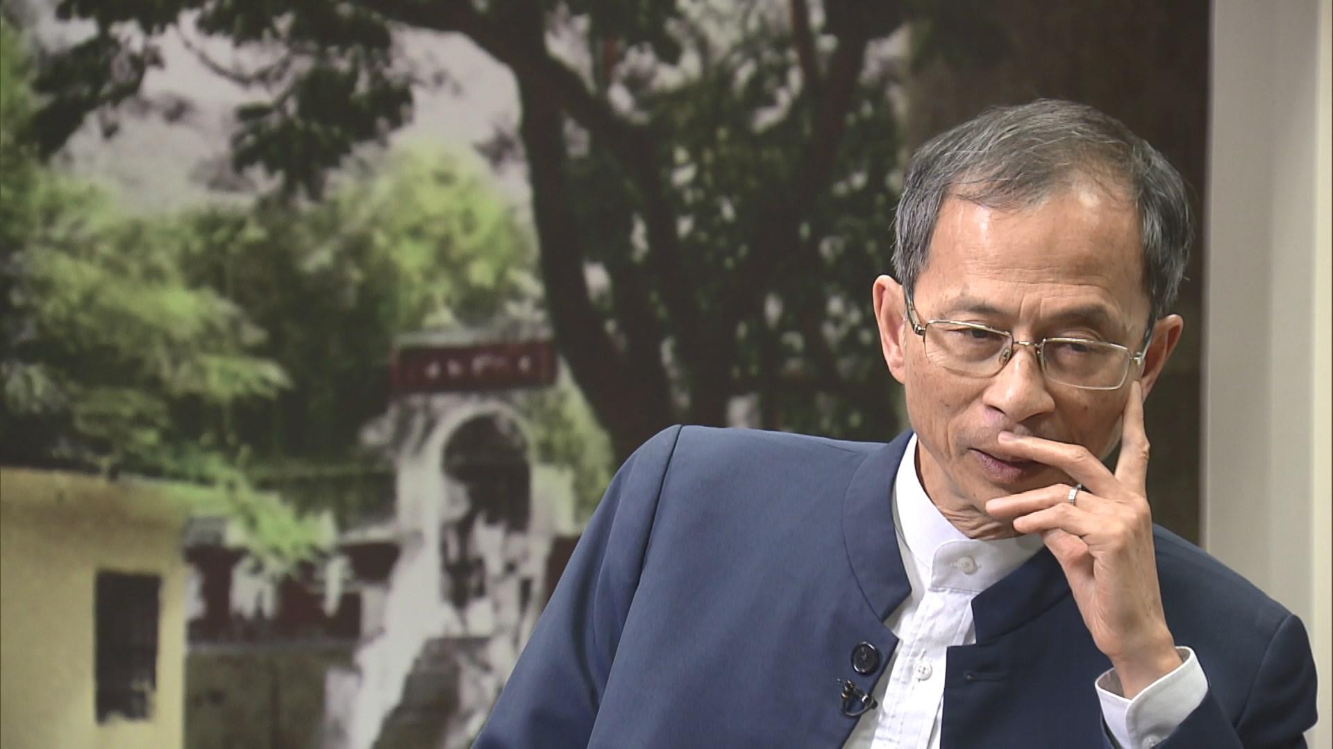 【專訪】曾鈺成:可考慮831框架外討論重啟政改