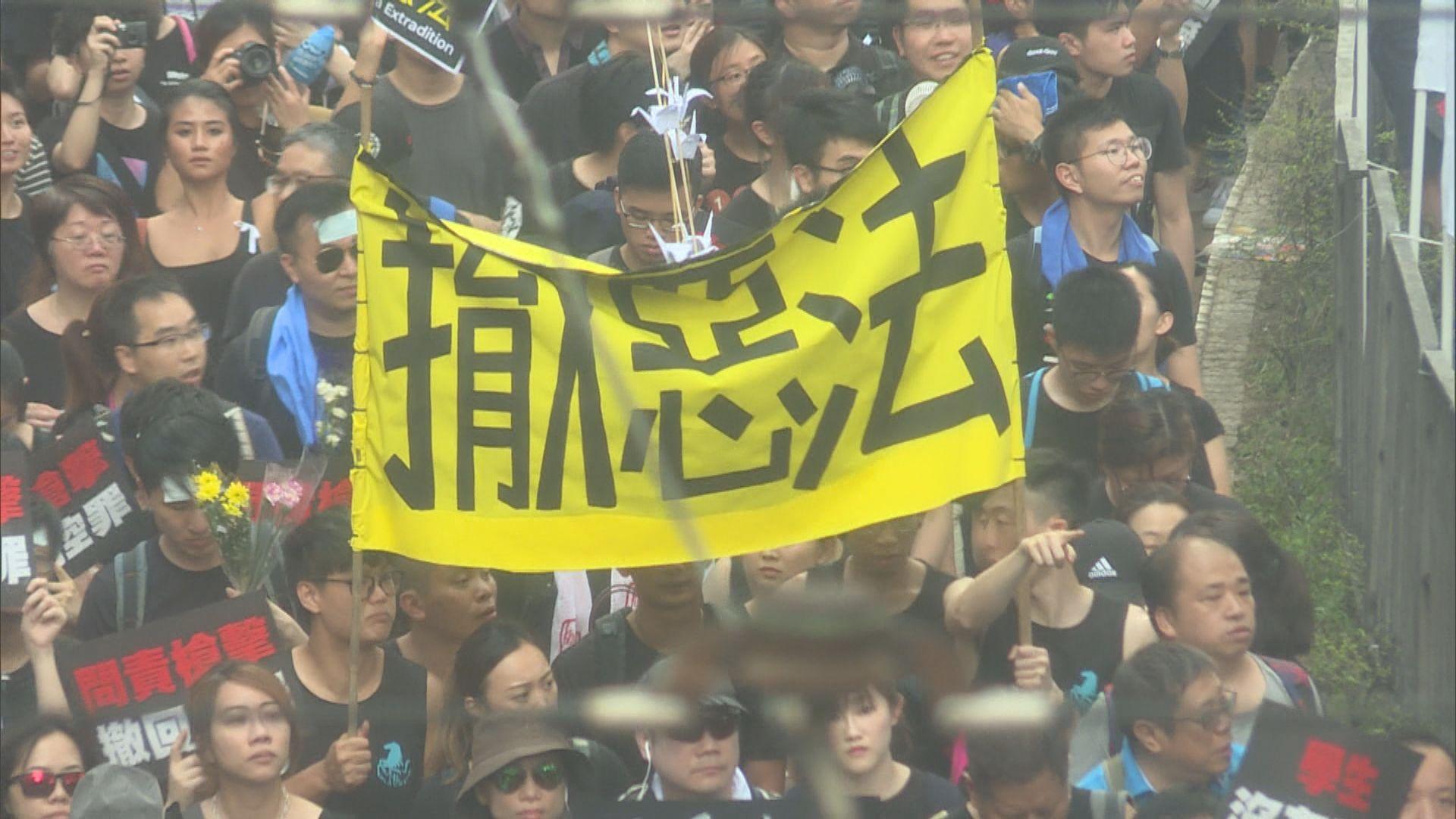 楊潤雄:年輕人參與反修例運動是關心社會