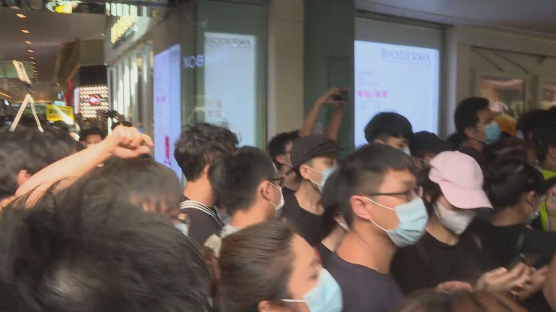【不斷更新】市民發起「光復上水」遊行後與警方爆衝突