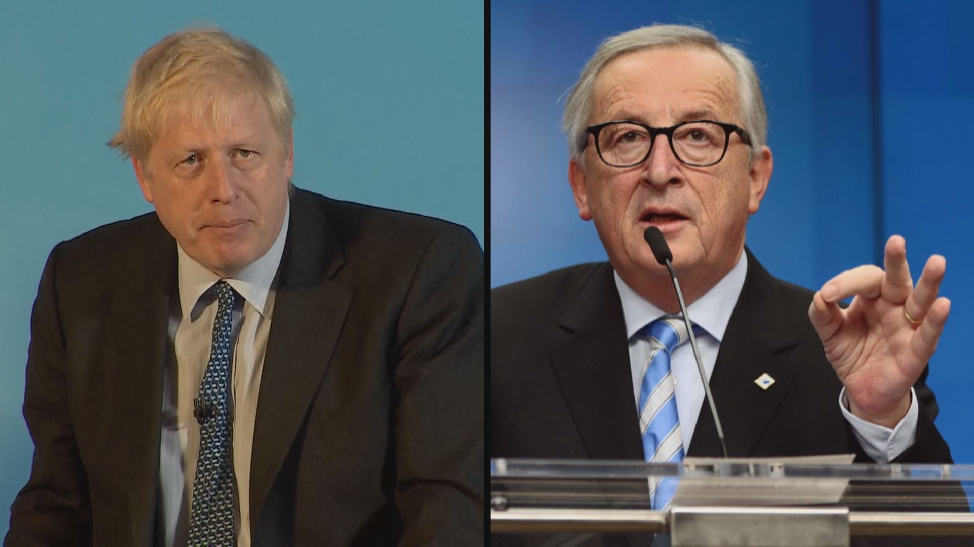 容克表明不會重啟脫歐談判