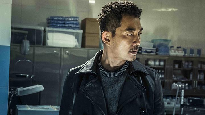 任賢齊在戲中飾演劫匪形象陰森